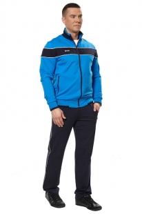 9827f3f1c06 Спортивный костюм мужской из трикотажа 11M-AN-667 голубой купить оптом